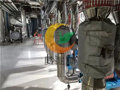山西太原晋城晋中可拆卸硫化机隔热套外形美观