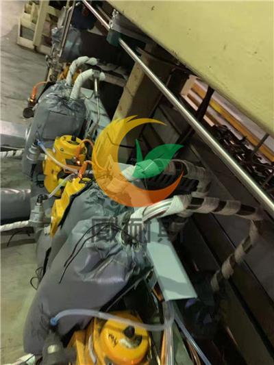 云南昆明昭通文山可拆卸硫化机阀门防护套方便检修