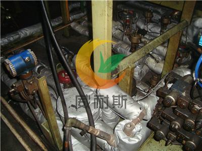 山西太原朔州吕梁可拆卸硫化机管道隔热棉